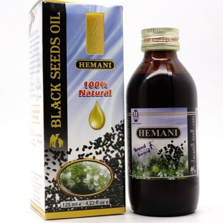 Масло Черного Тмина Химани (Black Seed Oil HEMANI), 125 мл