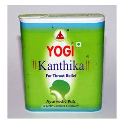 Йоги Кантика при воспалении горла (YOGI Kanthika), 140 драже