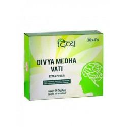 Медха Вати - Экстра сила для головного мозга (Medha Vatii Extra Power PATANJALI), 120 таб.