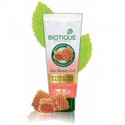 Увлажняющий гель для умывания Биотик Мед   Biotique Hydrating Face Wash Honey Gel
