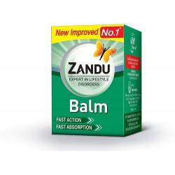 Бальзам мазь от простуды и боли Занду (Zandu Balm) Zandu, 8мл