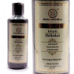 Масло для волос Кхади ШИКАКАЙ, Для длинны и сияния волос), 210 мл.
