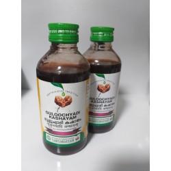 Гулучади кашаям, 200 мл, Guloochyadi Kashayam, мощный иммуномодулятор