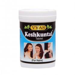 KESHKUNTAL КЕШКУНТАЛ, средство для роста волос, Вьяс), 100 таб.
