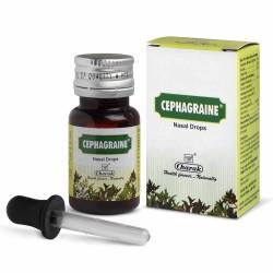 Сефагрейн Чарак, капли от заложенности носа(CEPHAGRAINE Nasal Drops Charak) 15 мл