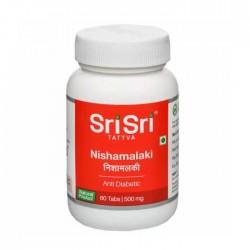 NISHAMALAKI, Sri Sri Tattva (НИШАМАЛАКИ от диабета, Шри Шри Таттва), 60 таб.