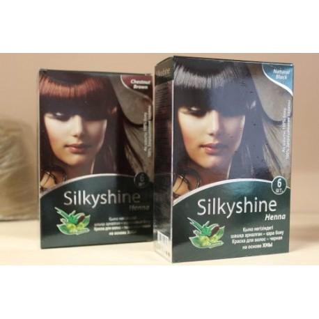 Хна для окрашивания волос Silkyshine