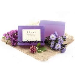 Натуральное аюрведическое Мыло Кхади Лаванда, Khadi Lavender soap, 125 г.