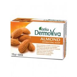 Dabur Мыло с экстрактом миндаля Vatika Naturals Almond Hydrating Soap