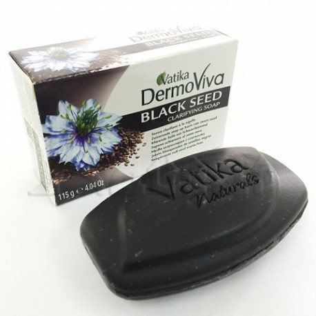 Мыло Ватика с черным тмином Dabur Vatika Dermoviva Black Seed