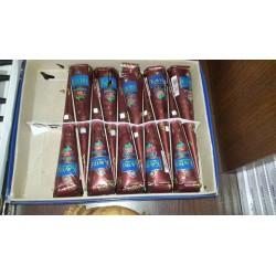 Паста-мехенди в конусах, 25 гр. коричневая