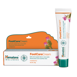 Крем для ног с Куркумой (FootCareCream Turmeric HIMAKAYA), 20