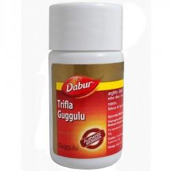 Трифала Гуггул для Очищения Организма (Trifla Guggulu DABUR), 40 таб.