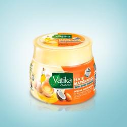 Майонезная Маска для волос Экстремальное Увлажнение (Vatika Extreme Moisturizing Mayonnaise DABUR), 500 гр