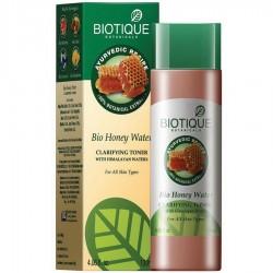 """Тоник очищающий для лица """"Медовая вода"""" БИОТИК (BIOTIQUE Bio Honey Water),120мл"""