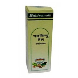 Шадбинду масло при инфекционных заболеваниях носа (Shadbindu Taila BAIDYANATH), 50 мл