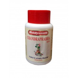 Чандрапрабха Бати - мочегонное, тонизирующее средство (Chandraprabha Bati BAIDYANATH), 80 таб.