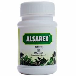 Алсарекс при повышенной кислотности, язве желудка, гастрите (Alsarex CHARAK), 40 таб.
