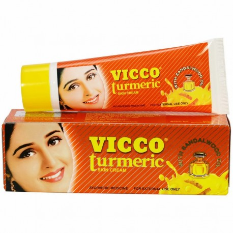 крем для лица Вико Турмерик (VICCO TURMERIC) 15г