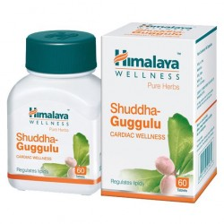 Шуддха Гуггулу Регулятор Холестерина (Shuddha Guggulu HIMALAYA), 60 кап. l
