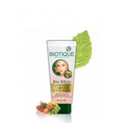 Гель для умывания отбеливающий (BIOTIQUE Bio White Face Wash),100мл