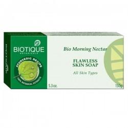 Питательное аюрведическое мыло Утренний Нектар (Bio Morning Nectar BIOTIQUE), 150 г.